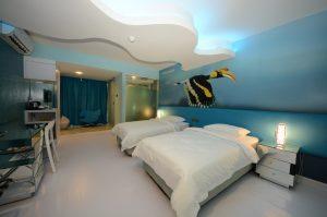 Unic Hotel KK Deluxe Twin Room